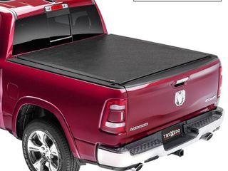 TruXedo lo Pro Soft Roll Up Truck Bed Tonneau Cover   585901   fits 2019 20 Ram New Body Style 1500 w o Multifuction tailgate 5 7  bed