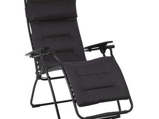 lafuma Futura Air Comfort Zero Gravity Indoor Outdoor Recliner Chair  Acier   Retail  299 00