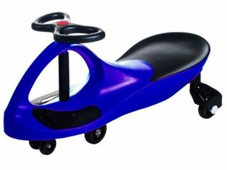 Ride on Toy  Ride on Wiggle Car by lil  Rider   Ride on Toys for Boys and Girls  2 Year Old And Up  Blue   HAS SOME RUST