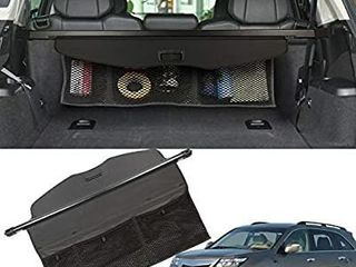 MarretooAuto Retractable TrunkaSpecial Design with Storage Net a for 07 13 Acura MDX Cargo Cover  Only Fit Power Tailgata  2009 2012 2013