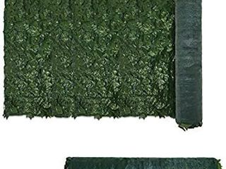 58  x 156  Faux Ivy Privacy Fence Screen with Mesh Back Artificial leaf Vine Hedge Outdoor Decor Garden Backyard Decoration Panels Fence Cover