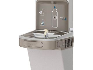 Elkay lzs8wslk Single Filtered Water Fountain  Cooled  light Gray