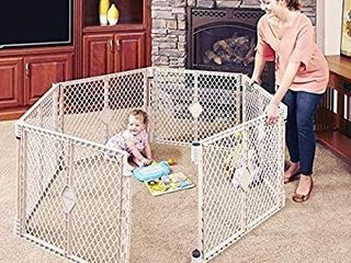 Toddleroo By North States Superyard Indoor outdoor Play Yd  Safe Play Area