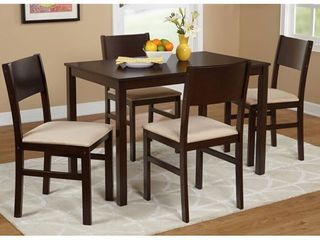 Simple Living Templeton 5-Piece Dining Set- Retail:$218.49