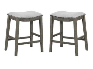 "Saddle Stool 24"" 2-pack"