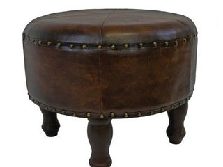 International Caravan Carmel Ottoman Stool- Retail:$75.48