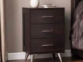 Carson Carrington Narva Mid-century Modern Storage Nightstand- Retail:$103.99