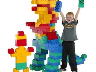 Kids Adventure 192-piece Building Construction Jumbo Blocks Set- Retail:$337.49