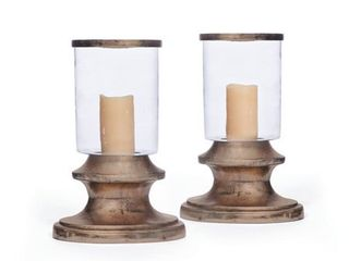 Berlin Oxidized Bronze Hurricanes (Set of 2)- Retail:$141.99