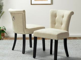 Berta Tufted Upholstered Side Chair,set of 2- Retail:$194.49