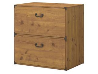 Ironworks Lateral File Cabinet from kathy ireland Home by Bush Furniture- Retail:$251.99