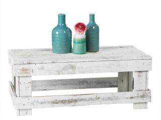 Handmade Del Hutson Designs Barnwood Coffee Table- Retail:$132.49