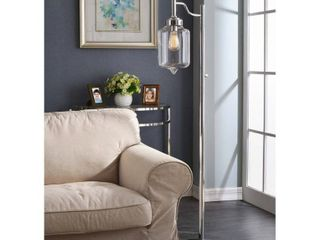 Carbon Loft Mangano 1-light Chrome Floor Lamp- Retail:$85.49