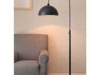 Belynda Black Modern Arc Floor Lamp- Retail:$116.49