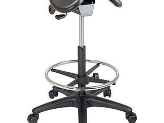 Backless Drafting Saddle Seat Stool- Retail:$129.49