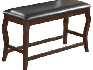 Best Master Furniture Counter Height Bench- Retail:$99.99