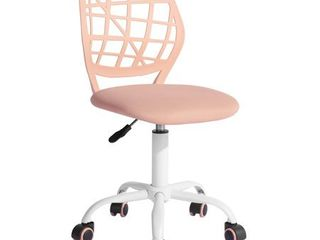 FurnitureR Swivel Mesh Office Chair Task Chair,Carnation, Multiple Colors