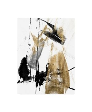 Jennifer Goldberger 'Glam And Black II' Canvas Art- Retail:$121.49