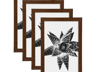DesignOvation Kieva 11x17 Wood Picture Frame, Set of 4