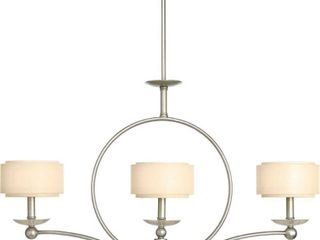 Progress Lighting 3-light Linear Chandelier. Lighting Fixture- Retail:$124.99