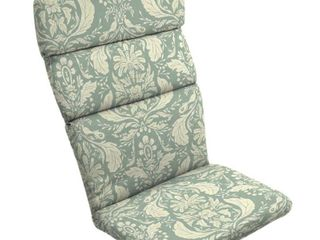 Arden   Artisans Pietro Damask Adirondack Chair Cushion   45 5 in l x 20 in W x 2 25 in H