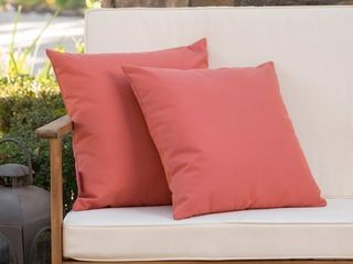 Coronado Outdoor Pillow  Set of 2  by Christopher Knight Home