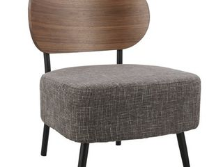 Poly and Bark Wellington Accent Chair in Grey  Retail 172 99