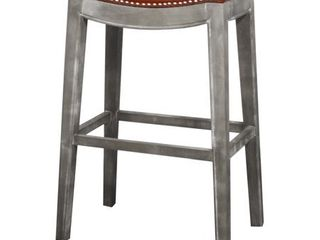 Elmo Bonded leather Bar Stool  Retail 138 49