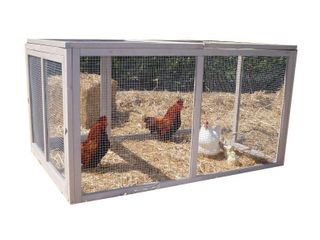 Precision Extreme Hen House Extension Pen   gray  Retail 172 22