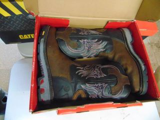 Justin   Work Boot   Steel Toed   Mens 8D