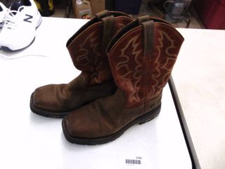 Ariat Steel Toed Work Boots - Mens 8.5
