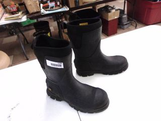 Caterpillar Rubber boot - Steel Toed - Mens 10