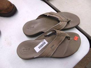 Croc's Flip Flop's - Mens 13