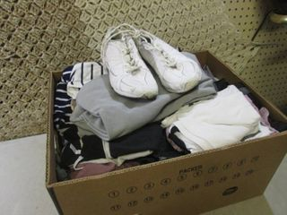 Box Full of Assorted Teen Clothing ...