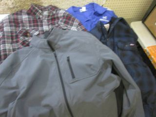 Mens Heavy Shirts and Coat Size Lae...