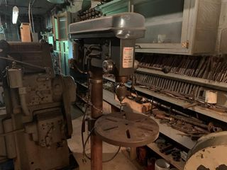 Cummins 12 Speed Heavy Duty Drill Press