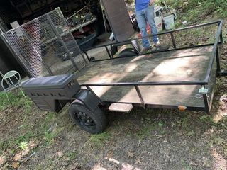 Homemade 2 Wheel Trailer