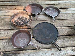 Fry Pans, Wagner Skillet