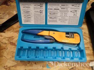 Kings Model KTH-1000 Crimper Includes Case,
