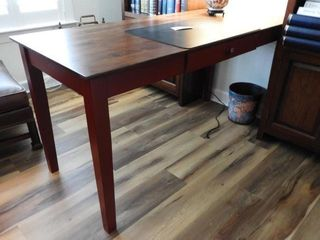 Lot #4350 - Contemporary desk/library table with