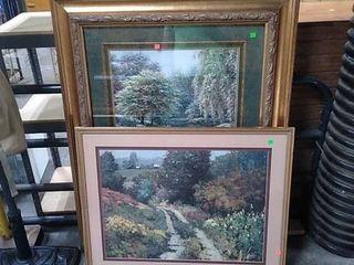 3 Assorted Framed Prints