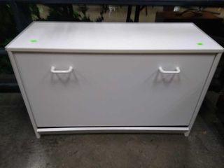 White Cabinet 29x12x19