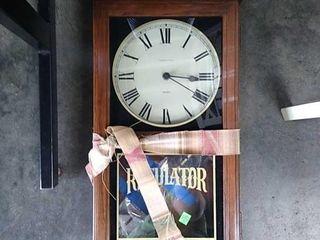 Regulator Wall Clock Untested