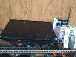 """Sanyo 31"""" T. V. : As Is, 2 Nuwave Mixers"""