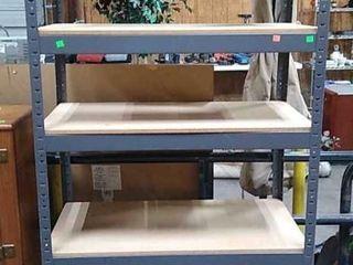 Metal Shelf 36x18x72