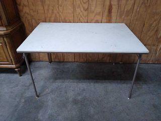 Folding Table 48x32x28