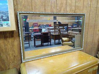 Framed Mirror 50x30