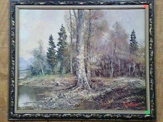 Lorenz Framed Artwork 35x29