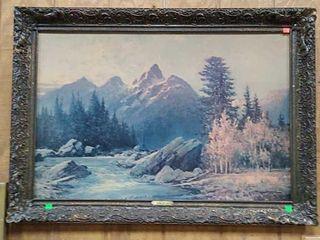 Grand Tetons - Robert Wood 41x29