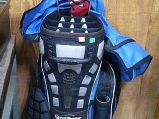 Vista Golf Bag With 4 Clubs